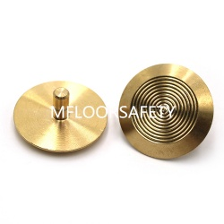 brass tactile stud